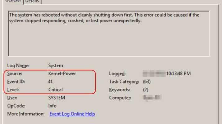 kernel power