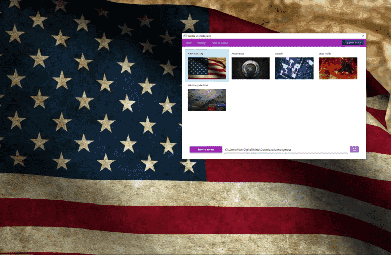 How To Setup Microsoft Desktop Live Wallpaper